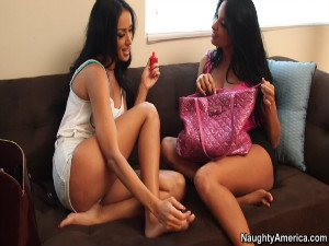 Anissa Kate and Breanne Benson - My Dads Hot Girlfriend