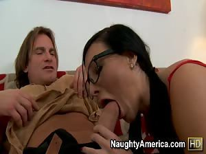 Ashli Orion fucked deep in the ass by Evan Stone